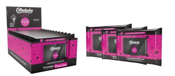 Nova embalagem dos lenços demaquilantes aumenta a conservação do produto